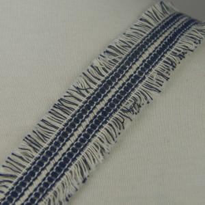 LTR00358白线棉蓝线涤